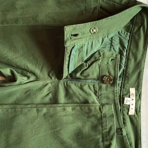 Denim army green relaxed fit